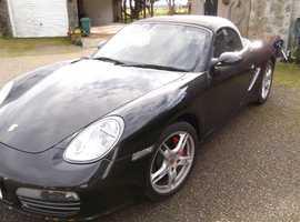 Porsche Boxster S, 2008 (08) Black Convertible, Manual Petrol,  miles