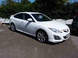 Mazda MAZDA 6, 2010 (10) White Hatchback, Manual Diesel, 102,000 miles