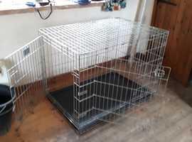Savic Pets Choice Extra Large double door metal dog cage