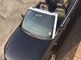 Audi A4, 2008 (57) Black Convertible, Cvt Petrol, 81,500 miles