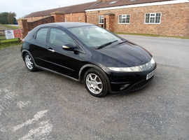 Honda Civic, 2006 (56) Black Hatchback, Manual Petrol, 104,000 miles