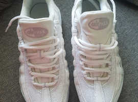 Genuine White Nike Air Max trainers