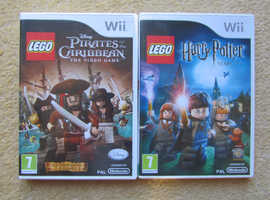 Two Wii Lego games Mint Condition