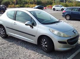 Peugeot 207, 2006 (56) Silver Hatchback, Manual Petrol, 155,000 miles