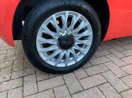 Fiat 500, 2019 (19) Orange hatchback, Manual Petrol, 12000 miles