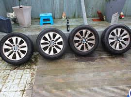 BMW 118d 16 inch wheels
