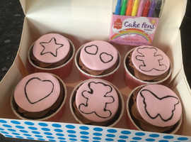 Colour your own cupcakes!