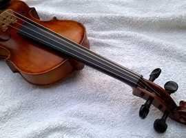 Old Romanian Violin Full-sized. 1910