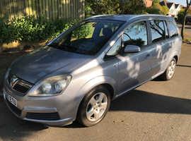 Vauxhall Zafira, 2007 (07) Silver MPV, Manual Petrol, 110,000 miles