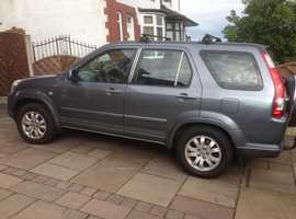 Honda CR-V, 2005 (05) Grey Estate, Manual Diesel, 191,000 miles