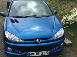 Peugeot 206, 2009 (09) Blue Hatchback, Manual Petrol, 98,010 miles