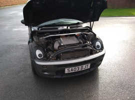 Mini Cooper S, 2003 (03) Grey Hatchback, Manual Petrol, 130,000 miles