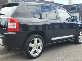 Jeep Compass, 2010 (59) black mpv, Manual Diesel, 108000 miles