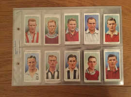 Cigarette Cards. 'Association Footballers' (1939).