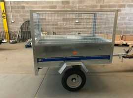 CAR TRAILER WITH 600MM HIGH FRAME