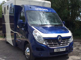 AD FAB 3.5 Renault Master new build horsebox
