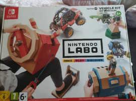 Nintendo labo brand new