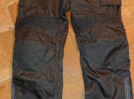 Ladies Buffalo Waterproof Textile Motorbike Trousers