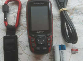 Garmin GPS map.