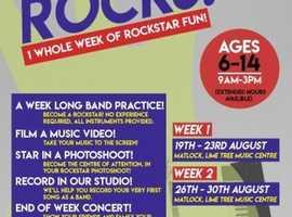 Summer Rocks Band Camp! A Whole Week of Rockstar Fun!