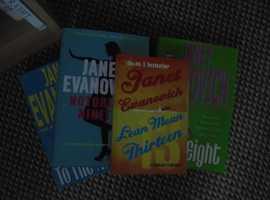 4 janet evanovich books