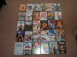 Collection of 30 DVDs