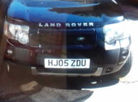 Land Rover Freelander, 2005 (05) Black Estate, Manual Diesel, 120,000 miles