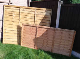Waney Fence Panels