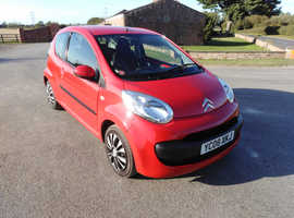 Citroen C1, 2008 (08) Red Hatchback, Manual Petrol, 60,000 miles