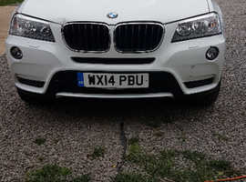 BMW X3, 2014 (14) White Estate, Manual Diesel, 77,771 miles