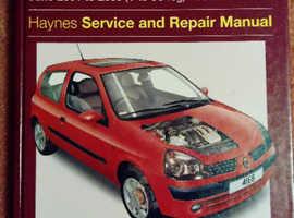 Haynes manual Renault Clio