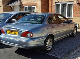 Jaguar X-TYPE, 2004 (53) Blue Saloon, Manual Diesel, 92,000 miles
