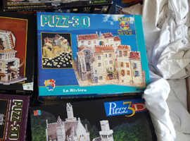Collection of 3D jigsaws