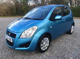 2014 Suzuki Splash 1.0 Petrol, 11 month MOT, £20 tax, 2 keys, service history, 67mpg
