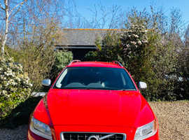 Volvo V70, 2013 (13) Red Estate, Manual Diesel, 113,000 miles