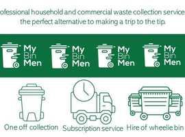 My BinMen Household Wheelie Bin and commercial Bin Collection Services Bristol