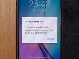 Samsung Galaxy s6 Edge unlocked.