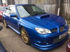 Subaru Impreza, 2007 (57) Blue Hatchback, Manual Petrol, 96,000 miles