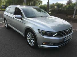 Volkswagen Passat, 2015 (15) Silver Estate, Manual Diesel, 132,000 miles BUSINESS EDITION