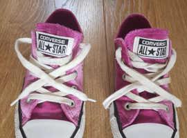 Converse All Stars Pink UK Size 11