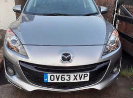 Mazda MAZDA 3, 2013 (63) Silver Hatchback, Manual Petrol, 39,162 miles