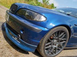 BMW 3 Series, 2003 (53) Blue Saloon, Automatic Petrol, 127,000 miles