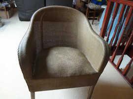 Lloyd Loom tub shaped chair