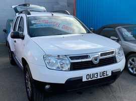 Dacia Duster, 2013 (13) White Hatchback, Manual Diesel, 97,245 miles