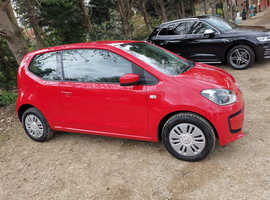 Volkswagen Up, 2014 (64) Red Hatchback, Manual Petrol, 36,250 miles