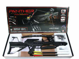 Anglo Arms Panther (BLACK) 175lb Crossbow Kit With Accessories.