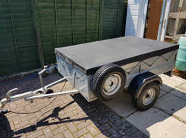 * Single Axel Trailer * Made in the UK * Cargo Dimensions: 180cm x 120cm x 45cm *