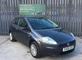 Fiat Grande Punto, 2008 (08) Grey Hatchback, Manual Petrol, 85,730 miles