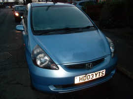 Honda Jazz 1.4 DSi SE 2003 (03) 3 PREV. OWNERS 15 SERVICE STAMPS AUGUST MOT  60,000 miles MANUAL PETROL