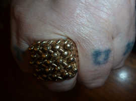 Heavy 9ct Gold Ring